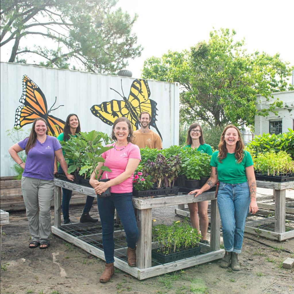 Rita's Roots Team for organic vegetable gardening